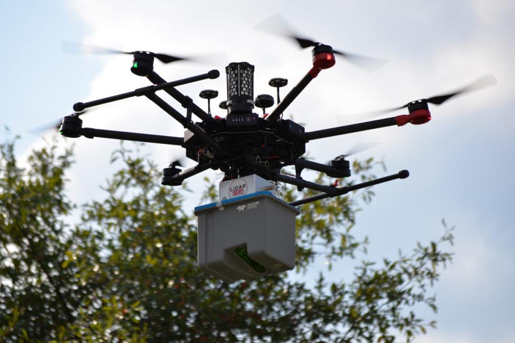 Společnost TELEDYNE OPTECH představuje lidar CL-90 pro integraci na UAV